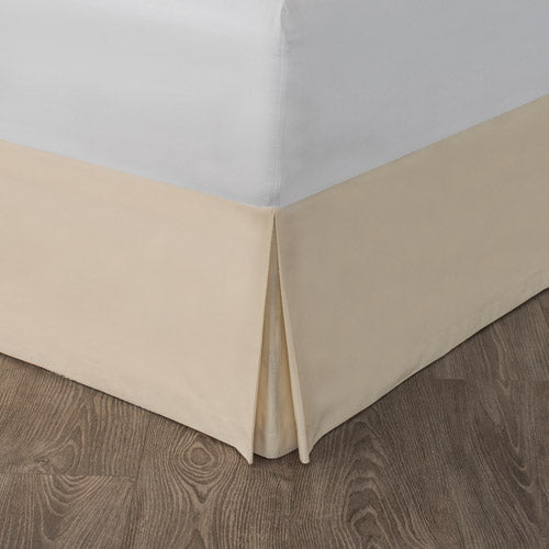 Beige Bed Skirt