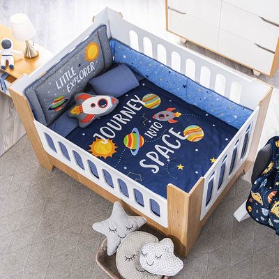 Baby Galaxy Crib Bedding Set