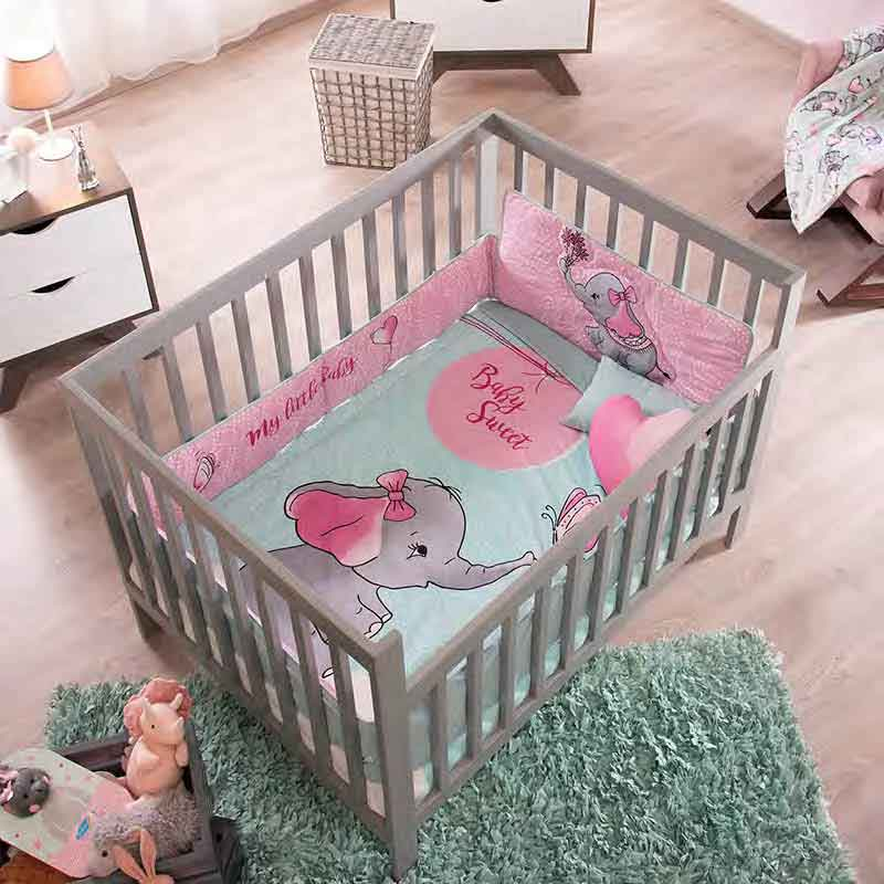 Baby Sweet Crib Bedding Set