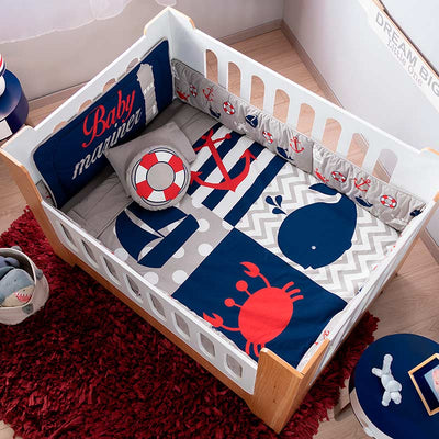 Baby Mariner Crib Bedding Set
