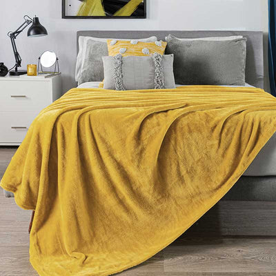 Mustard Light Blanket