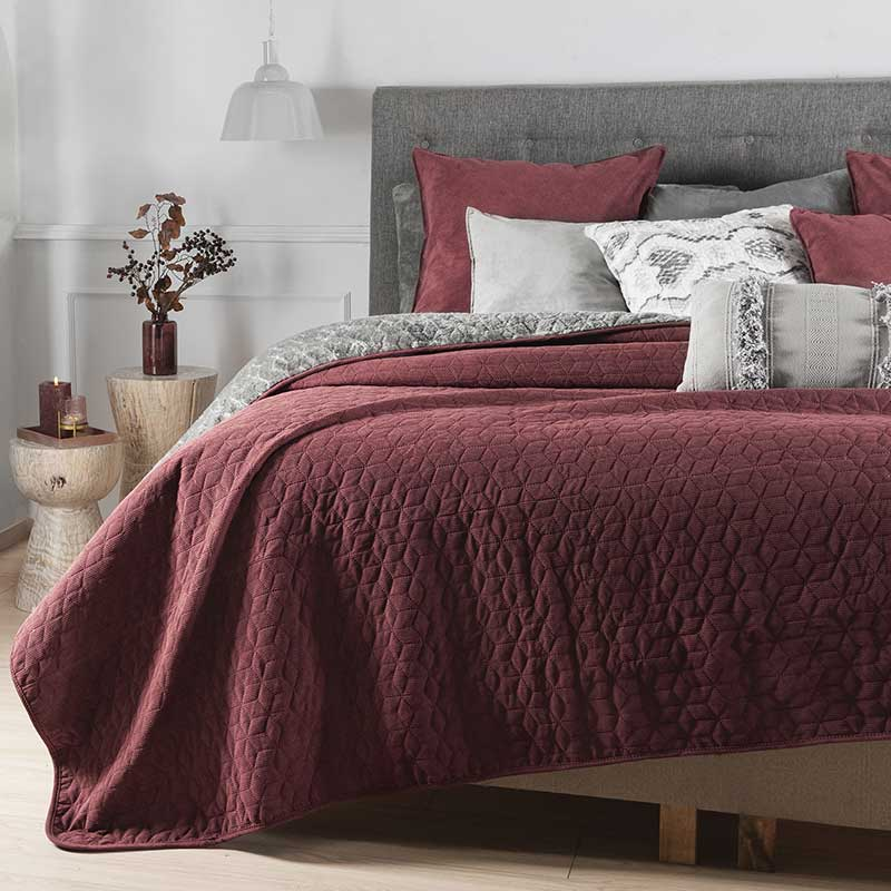 Dusty Pink Corduroy Blanket