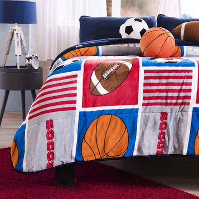 Sports blanket for boys, Perfect for winter!