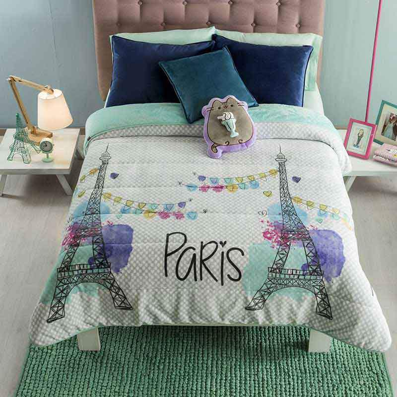 Paris blanket for girls