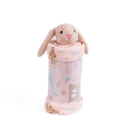 Baby Girl Pink Rabbit Blanket , Guarantee*