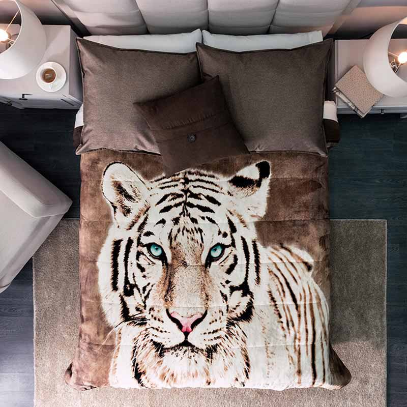 Tiger thick blanket, Softness guarantee!
