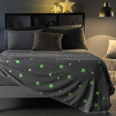 Shinning Stars Light Blanket