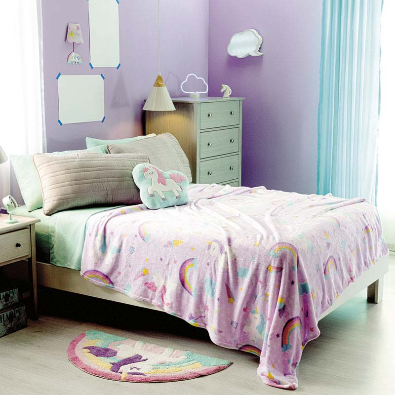 Fleece Blanket Sweet Unicorn