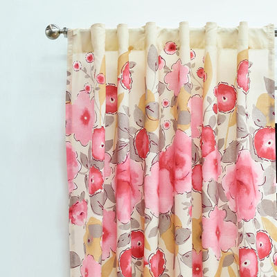 Roses Curtains Set