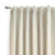 Ravenna Blackout Curtains Ivory, Guarantee* Clearance