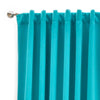 Aqua Blackout Curtains