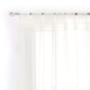 Beige Sheer Curtain Panels