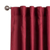 Wine Red Curtain Panels