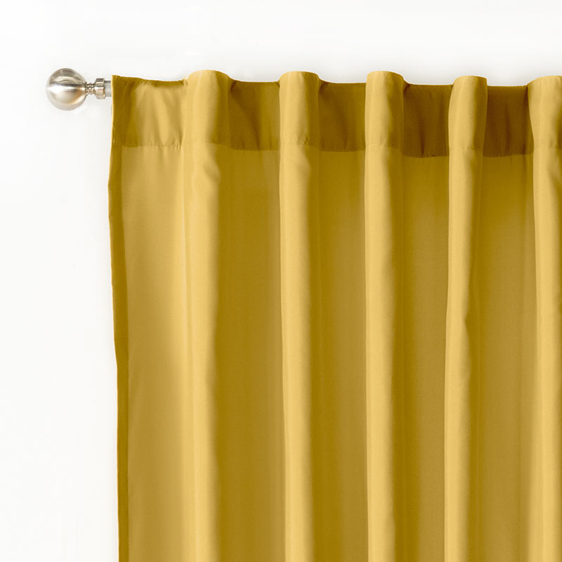 Mustard Curtain Panels