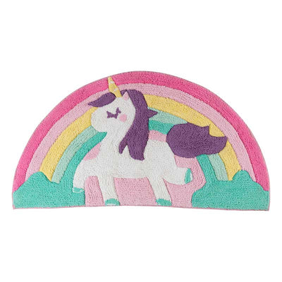 Decorative rug Unicorn