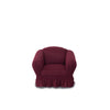 FURNITURE COVER WINE RED