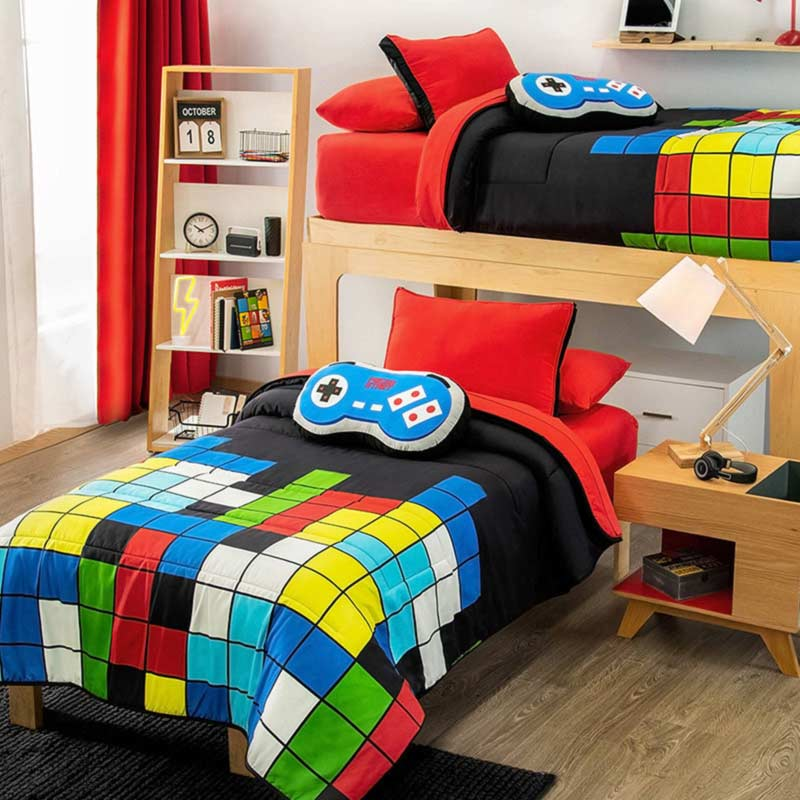 Videogame Reversible Comforter