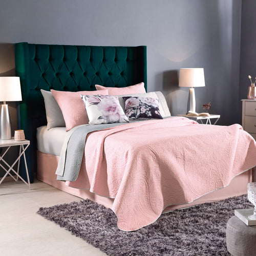 Pink Quilt, Grey second view! Guarantee*
