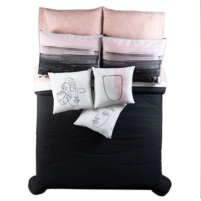Art Reversible Reversible Comforter Set