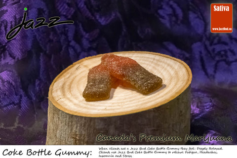 Coke Bottle Gummy Sativa - Jazz Bud -Canada's Premium Brand of Online Marijuana - 1