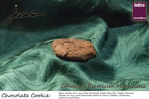 Chocolate Marijuana Cookie - Jazz Bud -Canada's Premium Brand of Online Marijuana - 1