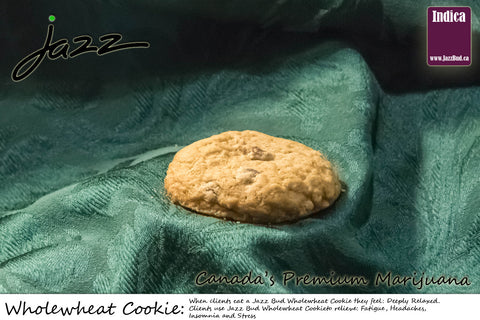 Wholewheat Marijuana Cookie - Jazz Bud -Canada's Premium Brand of Online Marijuana - 1