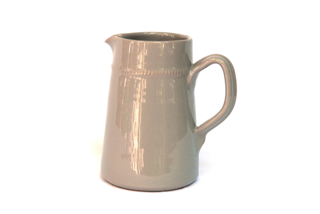Small Grey Ceramic Pitcher