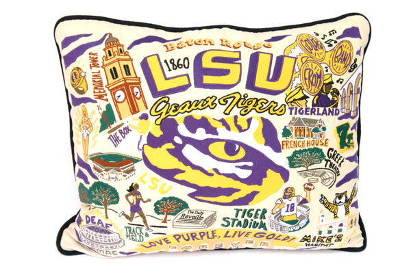 College Throw Pillows