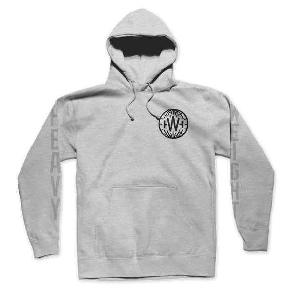 GLOBE HOODIE (HEATHER GREY)
