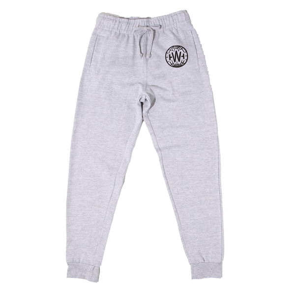 GLOBE JOGGERS (HEATHER GREY)