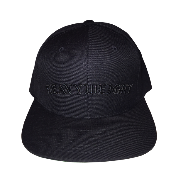 OLD ENGLISH SNAPBACK (BLACK-BLACK)