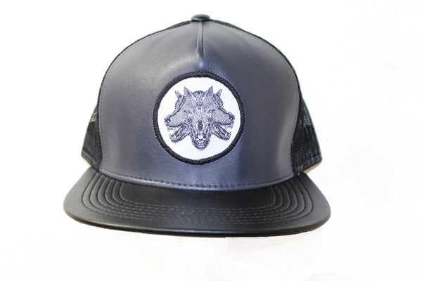 Wolfpack Leather Trucker