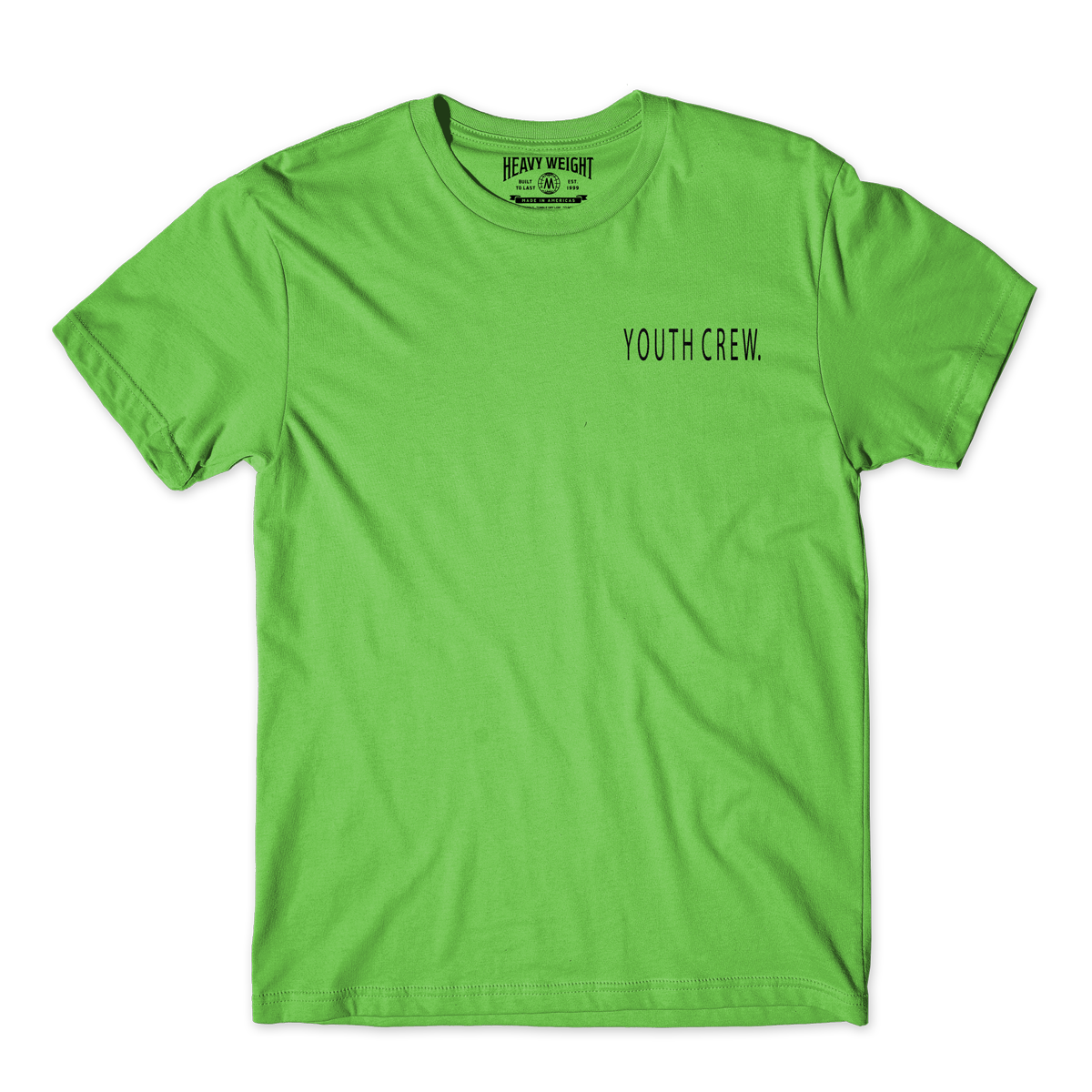 YOUTH CREW TEE (LIME)