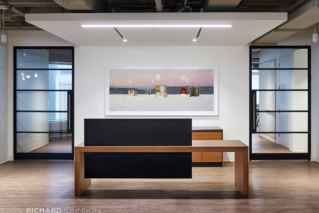 HOK offices, Toronto, Canada, Richard Johnson Photography