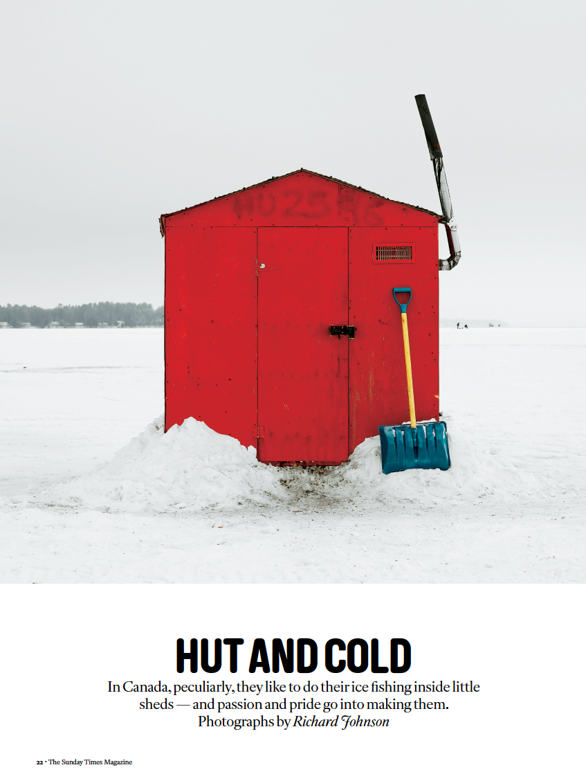 London Sunday Times Magazine - Ice Huts | Richard Johnson