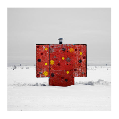 Ice Hut # 504a, Shields, Blackstrap Reservoir, Saskatchewan, Canada, 2011 | Limited Edition Archival Photograph | © 2007-2016 Richard Johnson Photography Inc. | richardjohnsongallery.com