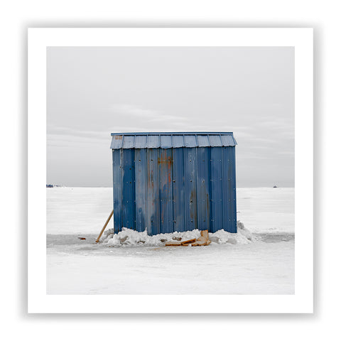 Ice Hut # 202, Bedeque Bay, Summerside, Prince Edward Island, 2009 | | Limited Edition Archival Photograph | © 2007-2016 Richard Johnson Photography Inc. | richardjohnsongallery.com