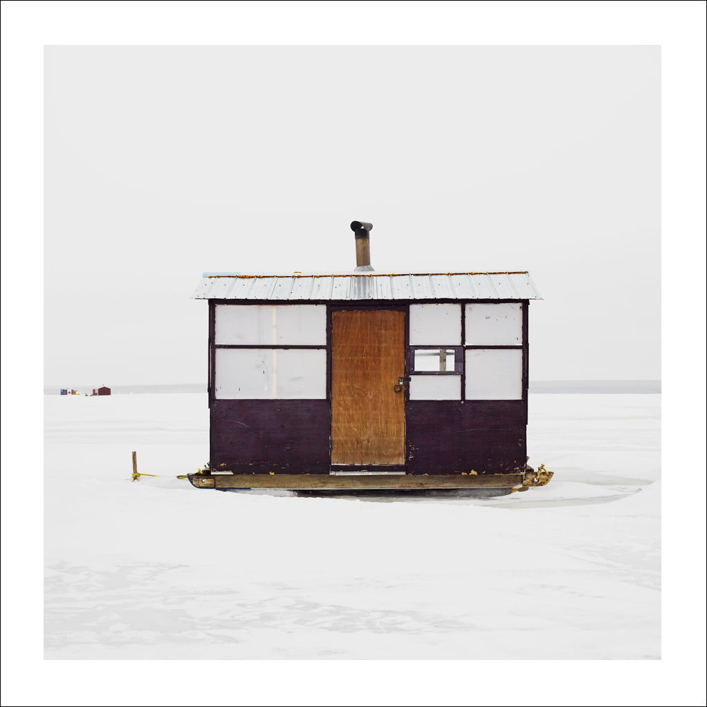 Ice Hut # 536, Joussard, Lesser Slave Lake, Alberta, Canada, 2011 | © 2007-2017 Richard Johnson Photography Inc. | richardjohnsongallery.com