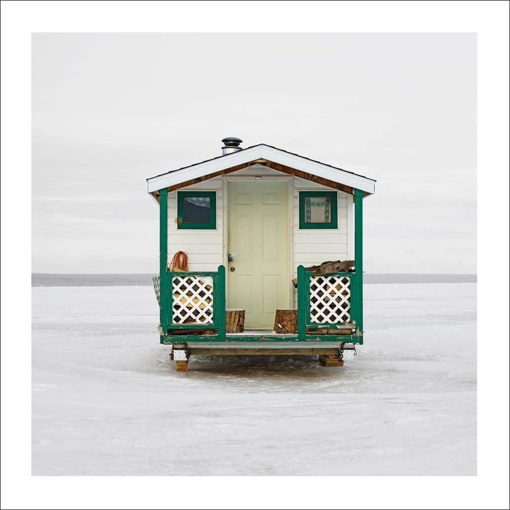 Ice Hut # 537, Joussard, Lesser Slave Lake, Alberta, Canada, 2011 | © 2007-2017 Richard Johnson Photography Inc. | richardjohnsongallery.com
