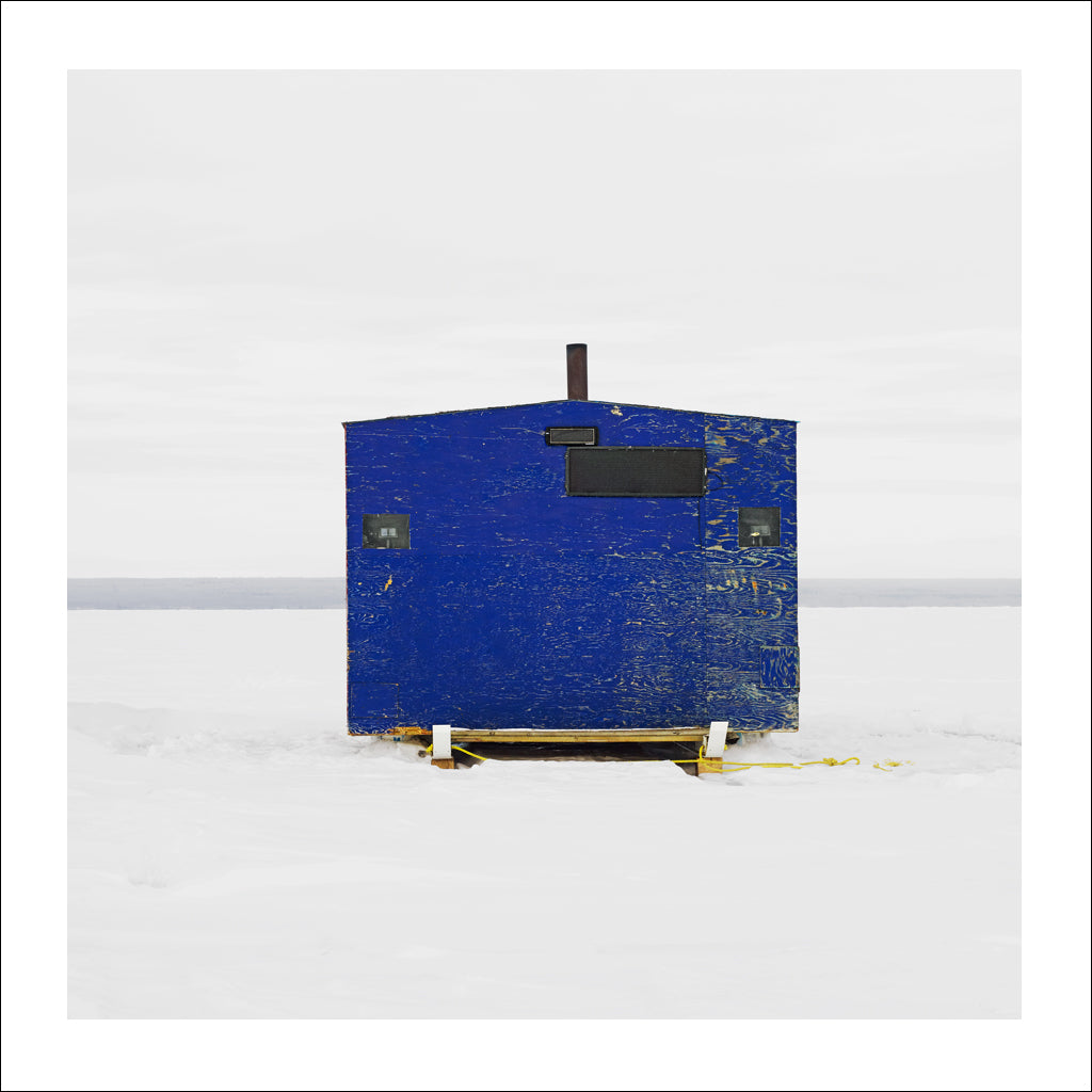 Ice Hut # 540, Joussard, Lesser Slave Lake, Alberta, Canada, 2011 | Limited Edition Archival Photograph | © 2007-2017 Richard Johnson Photography Inc | richardjohnsongallery.com