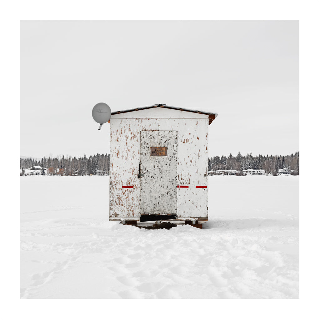 Ice Hut # 722, Quesnel, Dragon Lake, British Columbia, Canada, 2015 | © 2007-2016 Richard Johnson Photography Inc. | richardjohnsongallery.com