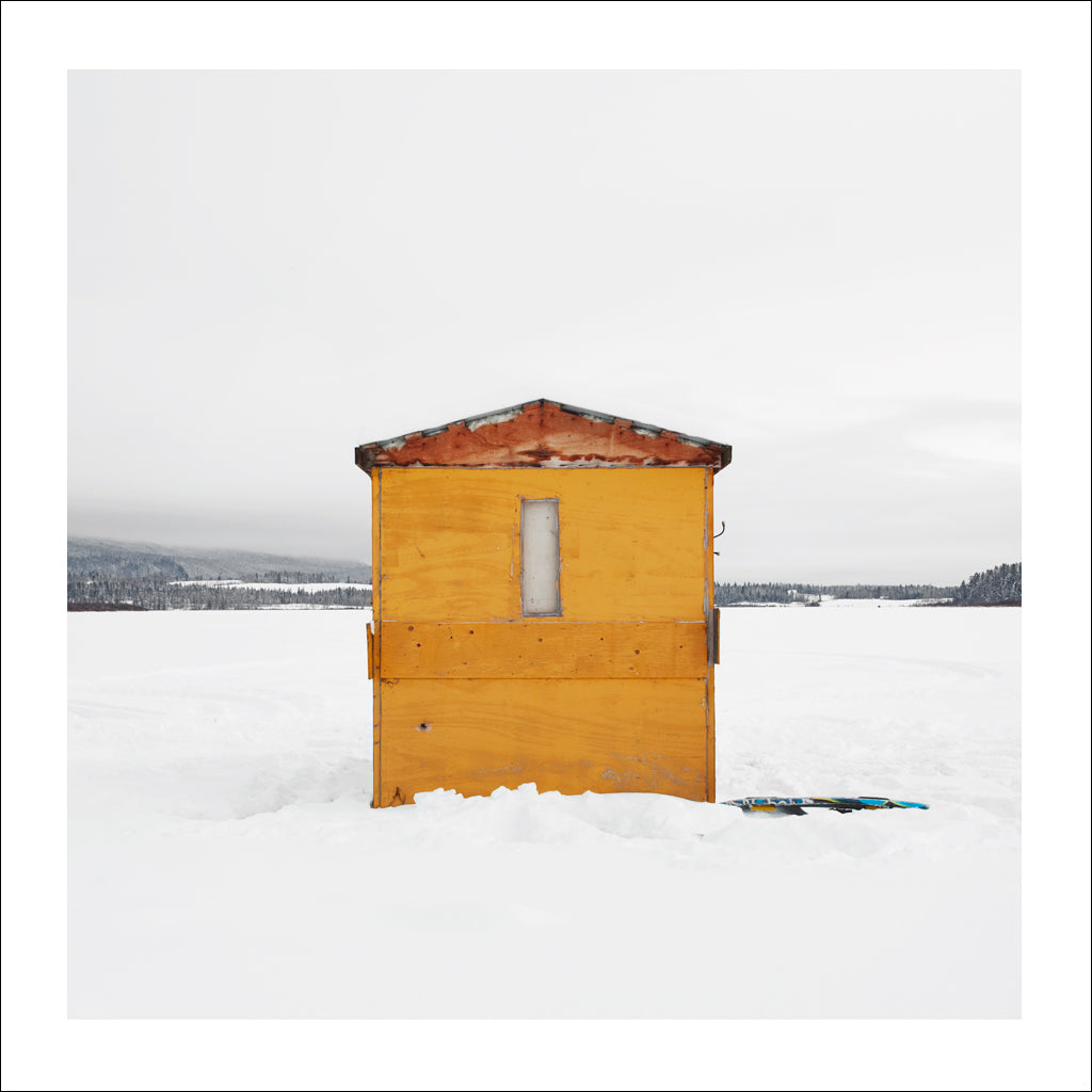 Ice Hut # 724, Quesnel, Dragon Lake, British Columbia, Canada, 2015 | © 2007-2017 Richard Johnson Photography Inc. | richardjohnsongallery.com