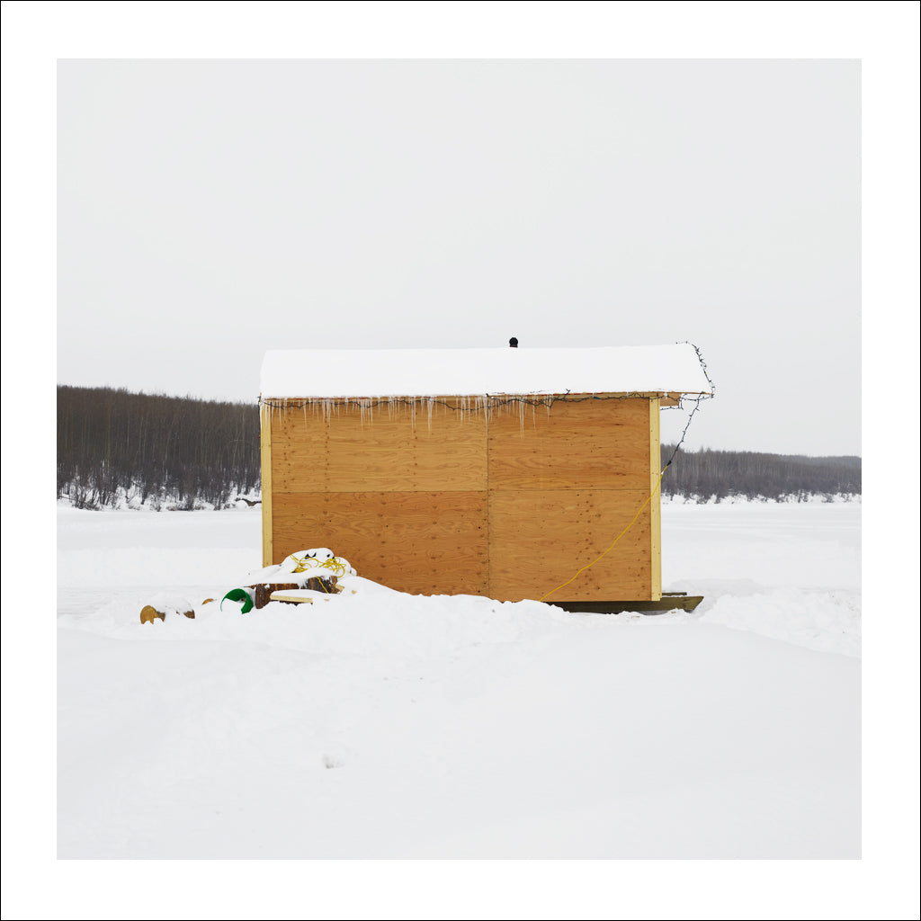 Ice Hut # 726-b, Fort St. John, Charlie Lake, British Columbia, Canada, 2015 | © 2007-2017 Richard Johnson Photography Inc. | richardjohnsongallery.com