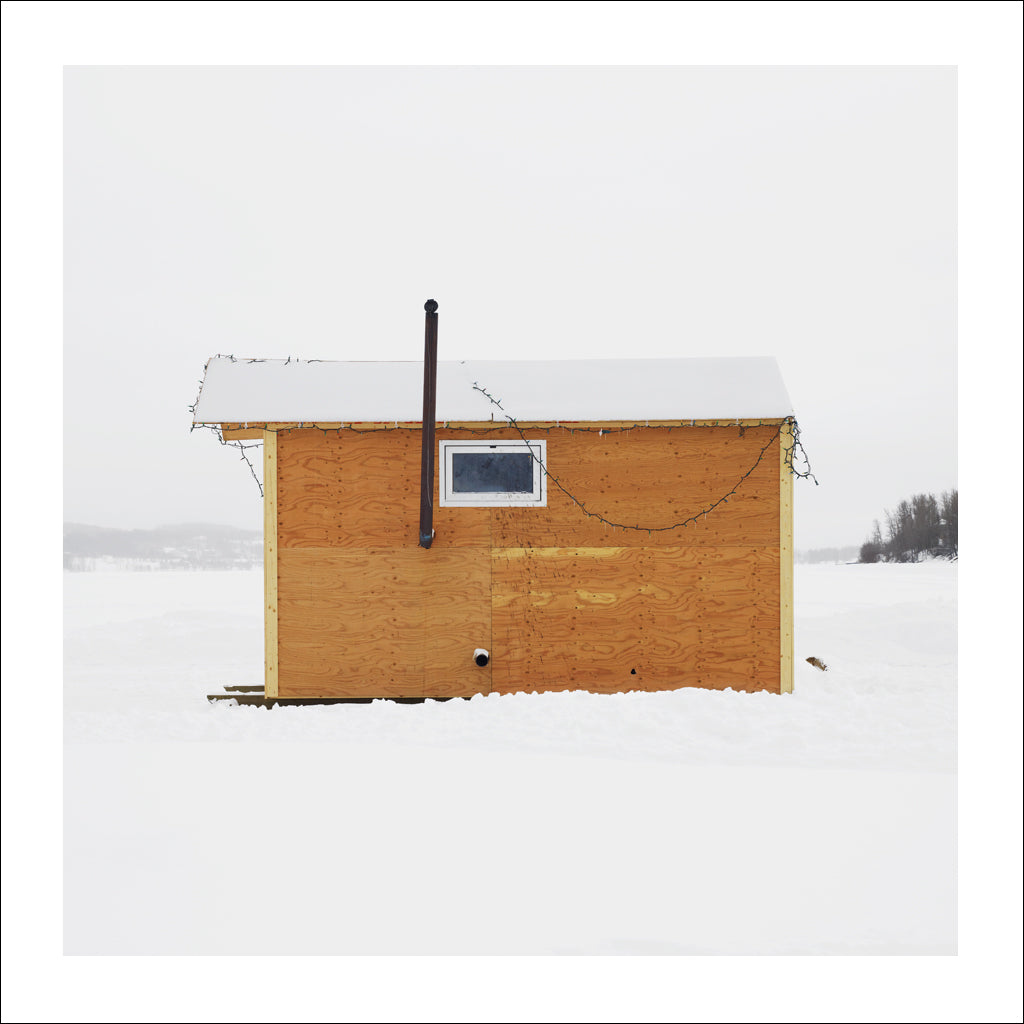 Ice Hut # 726, Fort St. John, Charlie Lake, British Columbia, Canada, 2015  | © 2007-2017 Richard Johnson Photography Inc. | richardjohnsongallery.com