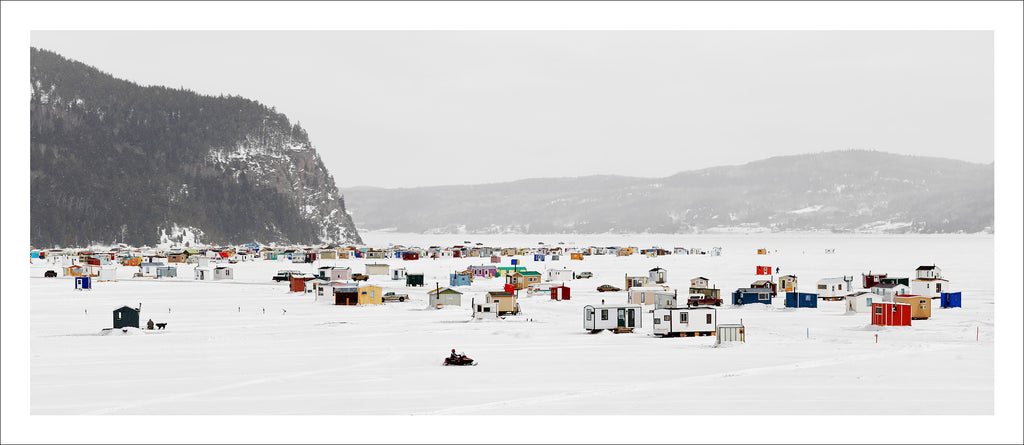 Ice Village # 1, La Baie Des Ha! Ha!, Saguenay River, Quebec, Canada, 2010 | © 2007-2016 Richard Johnson Photography Inc. | richardjohnsongallery.com