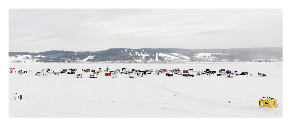Ice Village # 3, La Baie Des Ha! Ha!, Saguenay River, Quebec, Canada, 2010 | © 2007-2016 Richard Johnson Photography Inc. | richardjohnsongallery.com