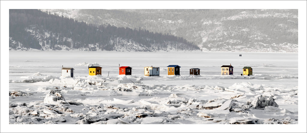 Ice Village # 9, L'Anse Saint-Jean, Saguenay River, Quebec, Canada, 2010 | © 2007-2016 Richard Johnson Photography Inc. | richardjohnsongallery.com