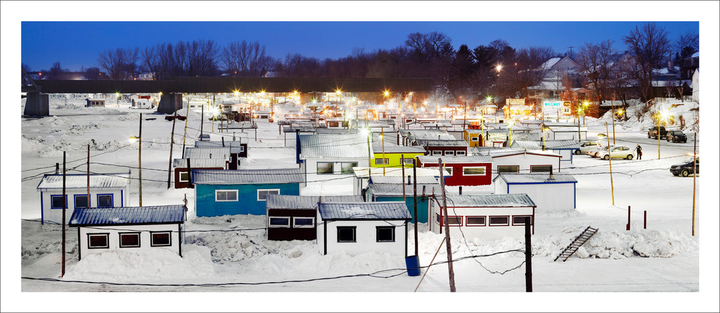 Ice Village # 16, Sainte-Anne-de-La-Pérade, Quebec, Canada, 2010 | © 2007-2016 Richard Johnson Photography Inc. | richardjohnsongallery.com