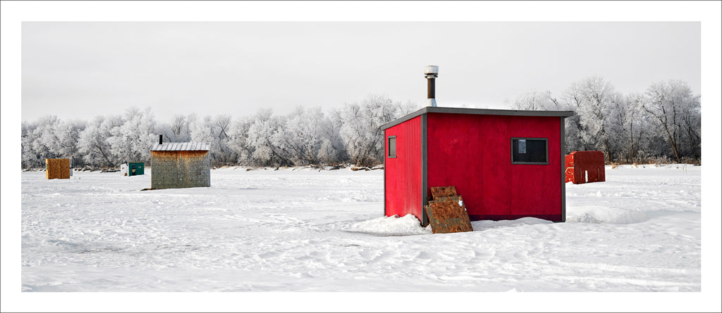 Ice Village # 23, Selkirk, Red River, Manitoba, Canada, 2010 | © 2007-2016 Richard Johnson Photography Inc. | richardjohnsongallery.com