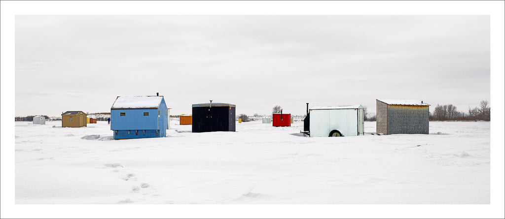 Ice Village # 29, Shields, Blackstrap Lake, Saskatchewan, Canada, 2011 |  © 2007-2016 Richard Johnson Photography Inc. | richardjohnsongallery.com